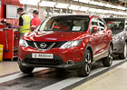 Nejrychleji vyr�b�n�m autem v Brit�nii je Nissan Qashqai, ji� poko�il hranici 2.000.000 kus�