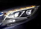 Mercedes-Benz zůstává u diodových světel, představuje novou generaci