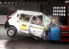 Datsun GO propadl v nárazovém testu, Max Mosley požaduje stažení z prodeje