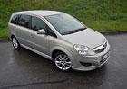 Ojetý Opel Zafira 1.9 CDTi: Rodinný dostavník