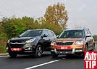 Hyundai ix35 2.0 CRDi vs. Škoda Yeti 2.0 TDI