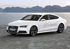 Audi A7 Sportback h-tron quattro: Vodíkový koncept ujede přes 500 km