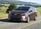Toyota Prius C a V: Nový vzhled pro hybridního prcka i MPV