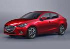 Mazda 2 sedan: Tříprostorová verze malého Japonce je tu oficiálně