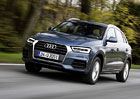 Audi Q3: Ceny modernizované verze začínají na 746.900 Kč