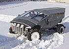 Futuristický armádní ZIL má pouze 136 kW, uveze však až deset vojáků