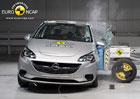Euro NCAP 2014: Opel Corsa m� tentokr�t �ty�i hv�zdy