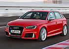 Audi RS 3 Sportback: Nejsilnější pětiválec v historii značky má 367 koní