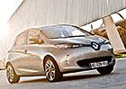 Elektromobil Renault Zoe od března 2015 s delším dojezdem