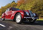 Alfa Romeo 6C 2500 S: Dárek pro Mussoliniho milenku mění majitele