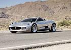 Jaguar C-X75 si také zahraje v nové bondovce Spectre