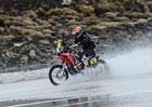 Rallye Dakar, 8.�etapa: Nep��ze� po�as� jezdce zasko�ila