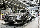 Mercedes-Benz CLA Shooting Brake: Sériová výroba zahájena