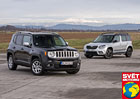 Srovn�vac� test: Jeep Renegade 1.6 MultiJet vs. �koda Yeti 2.0 TDI