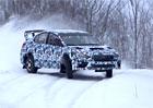 Video: Subaru WRX STI pro Rally America baletí na sněhu