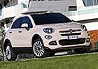 Fiat 500X: Na českém trhu v základu od 347.900 Kč