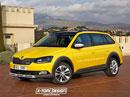 Škoda Fabia Scout a Škoda Rapid Scout: Takto by mohly vypadat