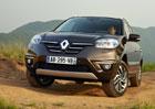 Renault Koleos naroste na pět metrů