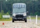 Zkoušky Fordu Transit: Trápení odolný