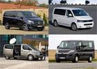 Volkswagen T5 vs. konkurence: Srovnání cena výbav