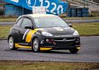 První jízdní dojmy: Rallyeový Opel Adam Cup (+video)