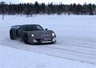 Video: Porsche 918 Spyder na h�ebech driftuje ve Finsku