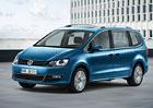 Volkswagen Sharan facelift: Motory Euro 6 a novinky v bezpečnosti