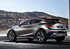 Infiniti QX30: Konkurent Mercedes-Benzu GLA se uk�e v �enev�