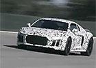 Video: Prototyp Audi R8 druhé generace se prohání na okruhu Ascari