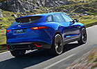 Jaguar F-Pace dorazí ivčistě elektrické verzi
