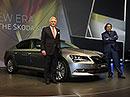 Škoda Superb III oficiálně: Světová premiéra v Praze-Karlíně