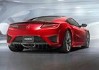 Honda NSX dostane ostřejší okruhový paket