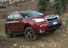 Subaru Forester: Turbodiesel a CVT v �esku od konce b�ezna
