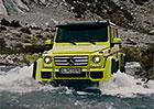 Video: Mercedes-Benz G 500 4x42 brody a ostr� kameny zkr�tka ignoruje