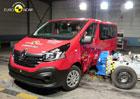 Euro NCAP 2015: Renault Trafic a Opel Vivaro – Jen tři hvězdy