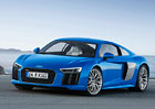 Audi R8 oficiálně: Zatím se dvěma verzemi 5.2 FSI V10 a jako elektromobil