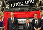 DAF vyrobil milionté nákladní vozidlo (+video)