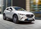 Mazda CX-3 má české ceny, začínají na 379.900 Kč za benzinový dvoulitr