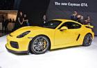 Porsche Cayman GT4: První statické dojmy