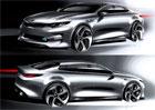 Nová Kia Optima na prvních skicách, produkční vůz uvidíme 1.dubna