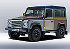Land Rover Defender Paul Smith: Pestrý originál s 27 laky karoserie