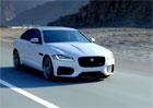Video: Jaguar XF 2016 poprvé na projížďce