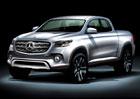 Pick-up Mercedes-Benzu nebude jen Nissan Navara s jin�mi zn��ky, ale v�n� luxusn� stroj