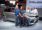 Z továrny BMW ve Spartanburgu vyjely už tři miliony aut