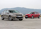 Citro�n C4 1.2 PureTech vs. Ford�Focus 1.0 EB
