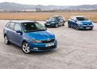 Škoda Fabia Combi vs. Seat Ibiza ST vs. Renault Clio Grandtour