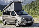 Mercedes-Benz Marco Polo: Obytná třída V a Viano  na nových fotkách