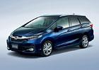 Honda Shuttle: Prodloužený Jazz pro Japonsko