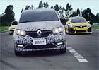 Video: Dacia Sandero RS poprv� na trati, �ekejte dvoulitr a 110 kW