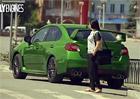 Video: Subaru WRX STI mění na požádání svou barvu